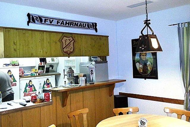 FVF-Clubheim aufgemöbelt