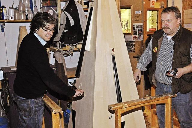 Orgelvorstellung, Hörproben und neue Klangpyramide