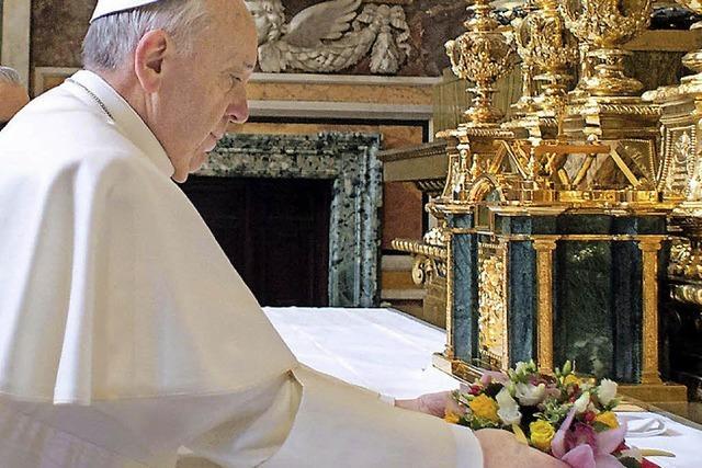 Franziskus setzt unübersehbare Zeichen