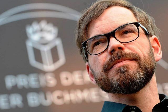 David Wagner erhält den Preis der Leipziger Buchmesse