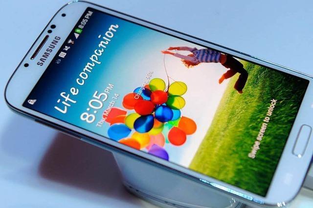 Samsungs neues Galaxy S4 macht iPhone Konkurrenz