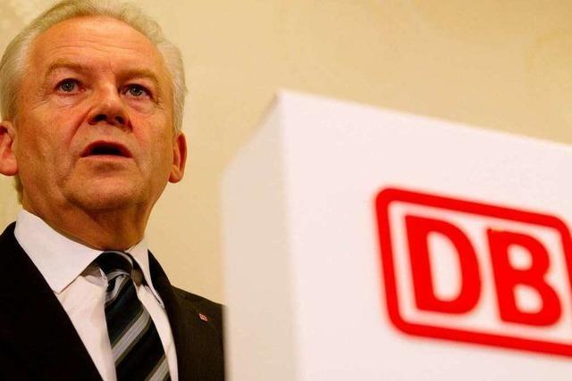 Bahnchef schließt höhere Ticketpreise wegen Stuttgart 21 aus