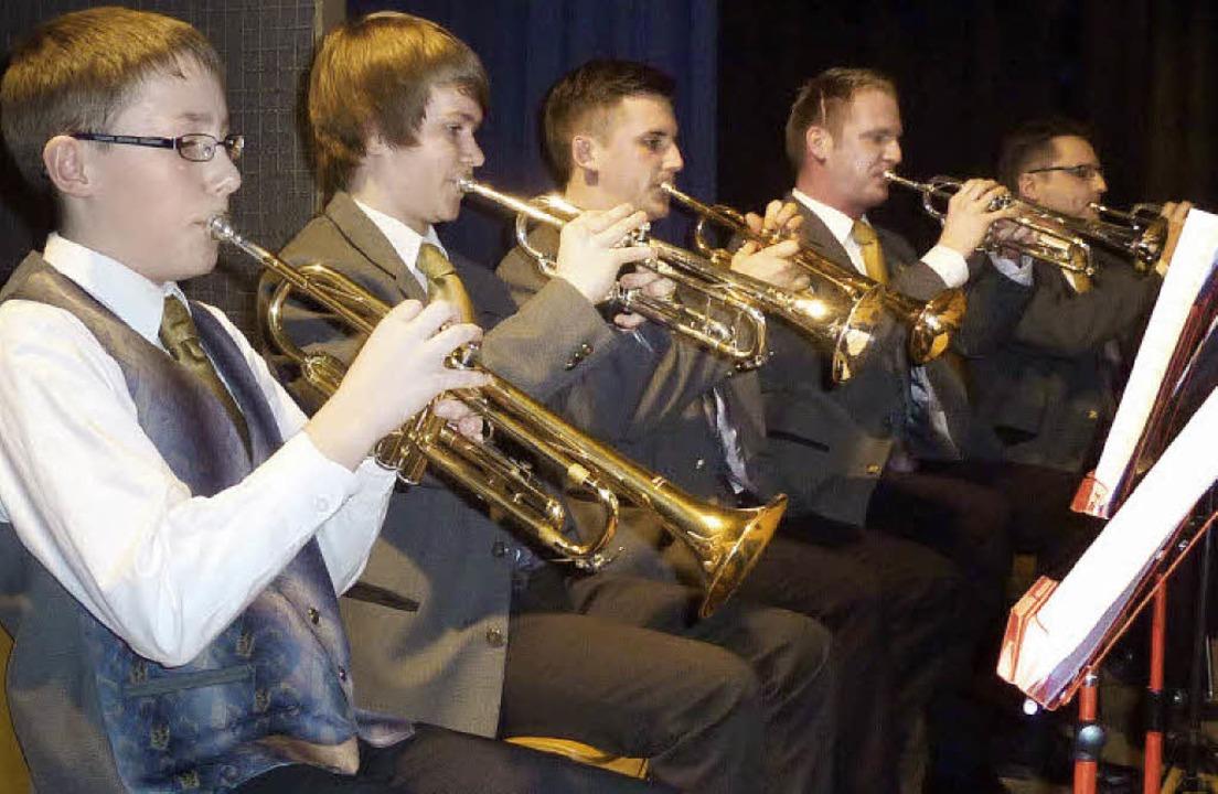 Kraftvoller Klang: das Teninger Trompetenregister  | Foto: Karlernst Lauffer