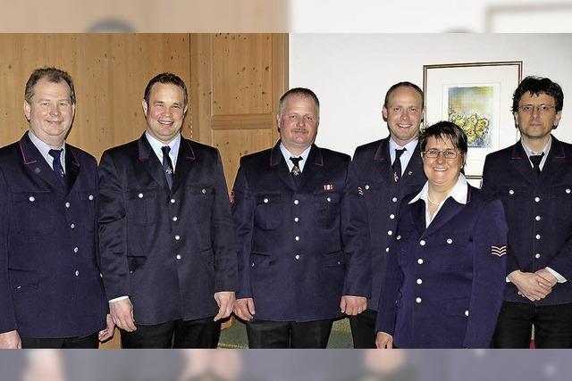 Neuer Chef der Feuerwehr in Riedern