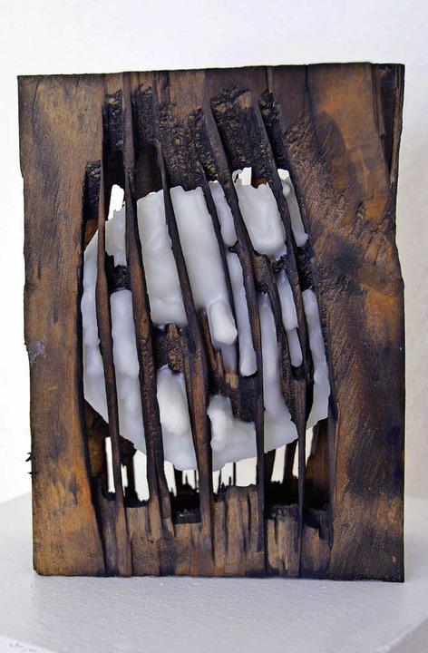 Von beiden Künstlern gemeinsam angefer...in der Galerie im Tor in Emmendingen.   | Foto: Birgit Herrmann