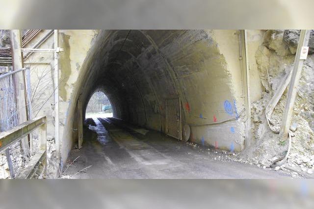 Tunnelbau wird vorbereitet
