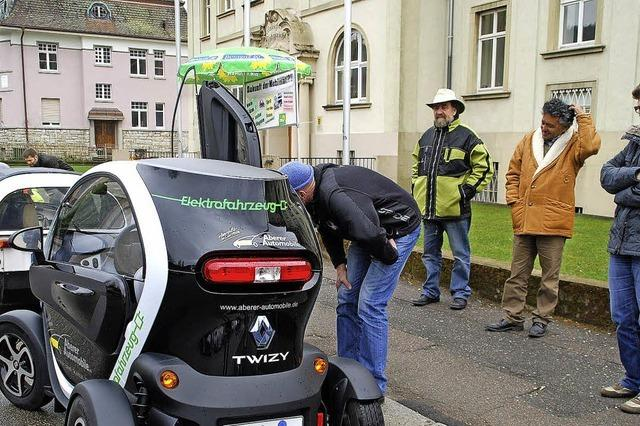 Beispiele für die Mobilität der Zukunft