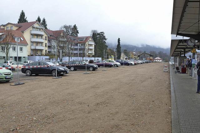 Mehr Parkplätze am Gleis 3