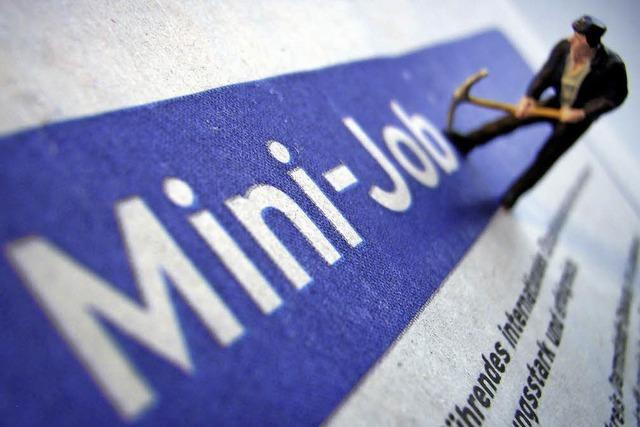 Minijobber: Beschäftigte zweiter Klasse