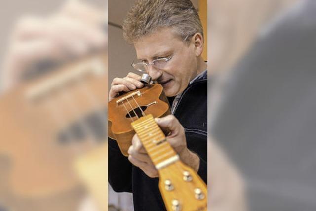 Holzexperte Gerald Koch über illegalen Holzhandel - und Maffays Gitarre