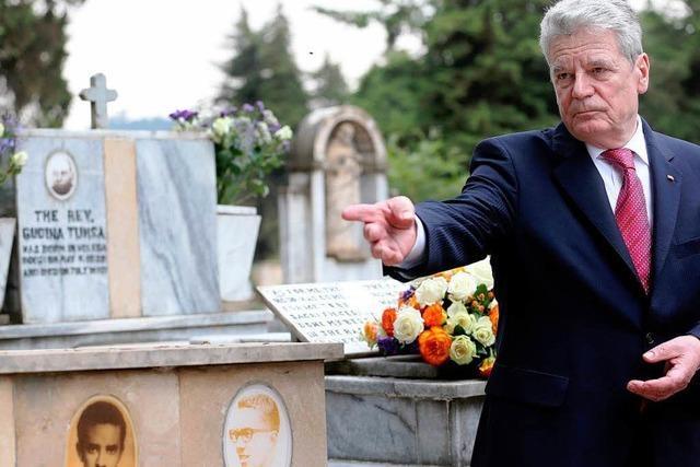 Gauck ehrt ermordeten Kirchenführer