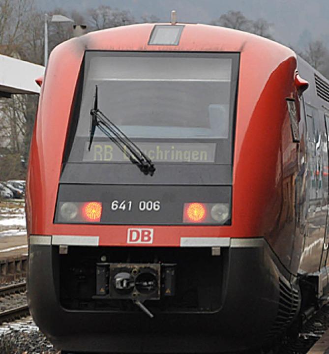 Auf einem politisch unsicheren Gleis: die Hochrheinbahn.  | Foto: Gra