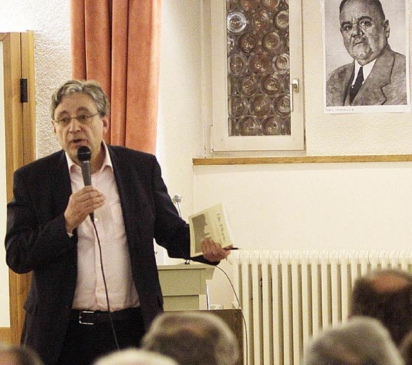 Tscheulin-Enkel Hans-Georg Otten-Tscheulin  | Foto: Patrik Müller