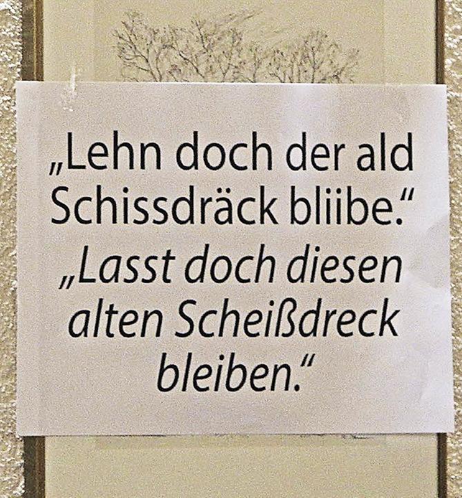 Podiumsdiskussion zu Emil Tscheulin  | Foto: Patrik Müller
