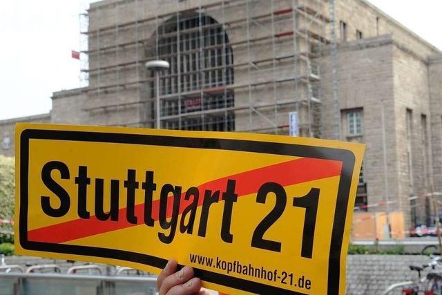 Stuttgart 21: Bahn und Land verhandeln wieder