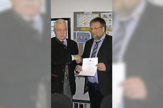Schmitt neuer Schulleiter an der Realschule