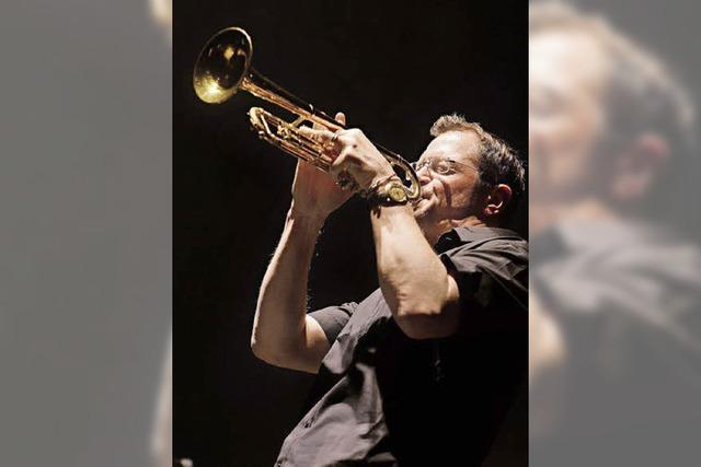 Solo-Trompeter Ingold Burkhardt im Jazztone Lörrach
