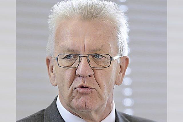 Bürger treffen Kretschmann