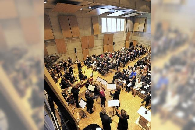 Probe des Freiburger Barockorchesters