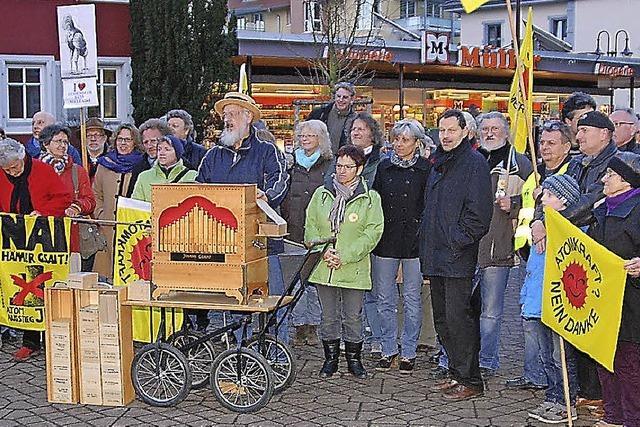 Zum 100. Mal gegen das AKW in Fessenheim