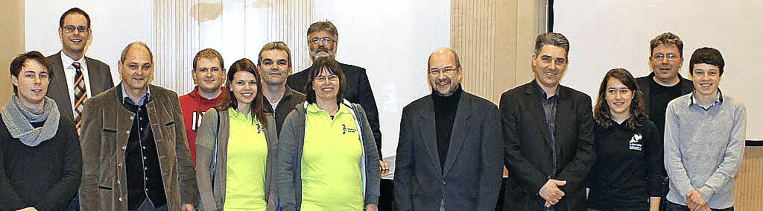 Die stolzen Preisträger: Die Rickenbac... Kaeser, Judith Beck und Ralf Eckert.   | Foto: BZ