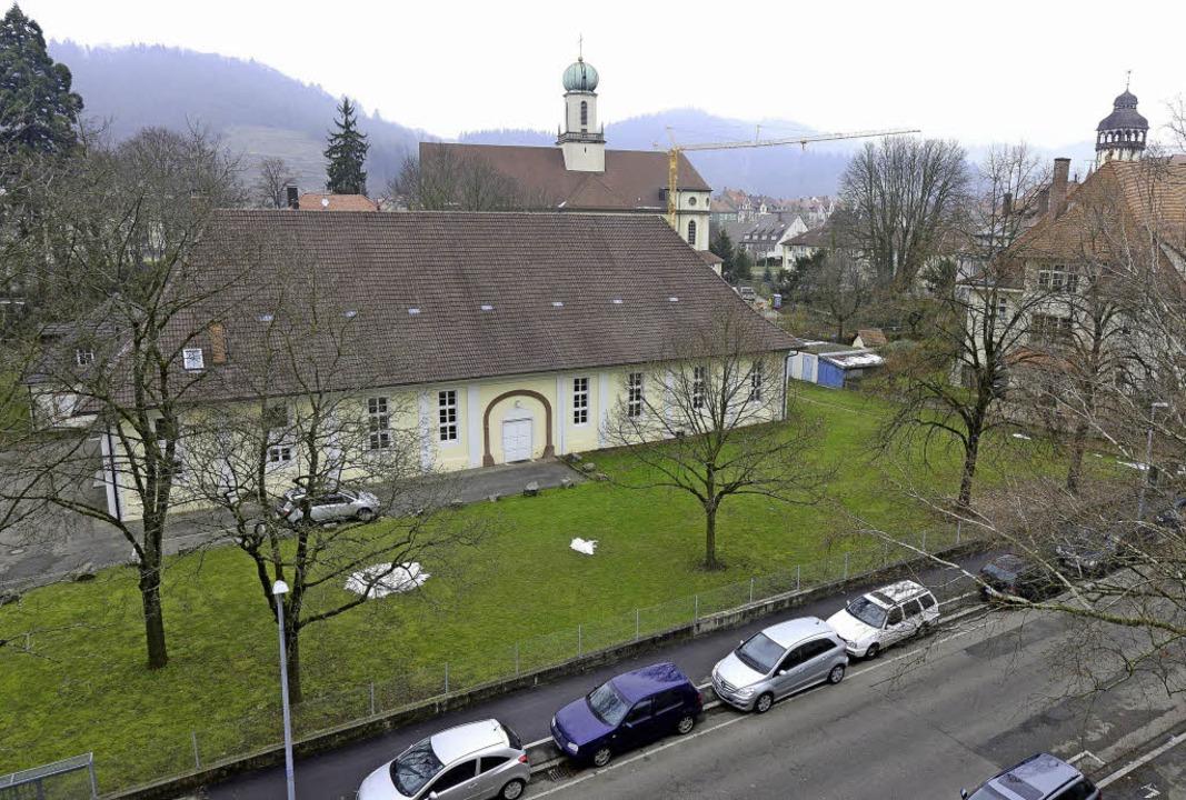 Um den Gemeindesaal der Pfarrei Maria-Hilf wird heftig gestritten.  | Foto: Ingo Schneider