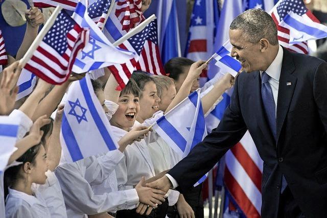 Israel baut im Iran-Streit auf die Hilfe der USA