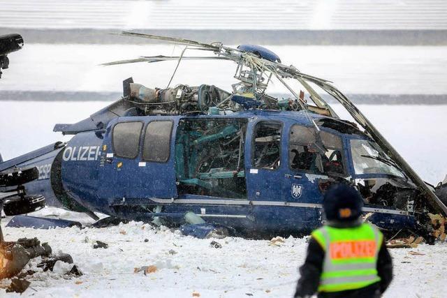Hubschrauberkollision bei Großübung in Berlin - ein Toter