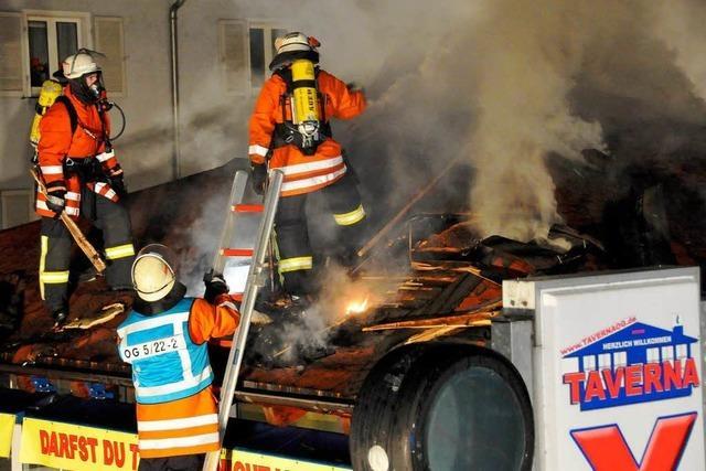 Großbrand: Gericht verurteilt Heroinabhängigen