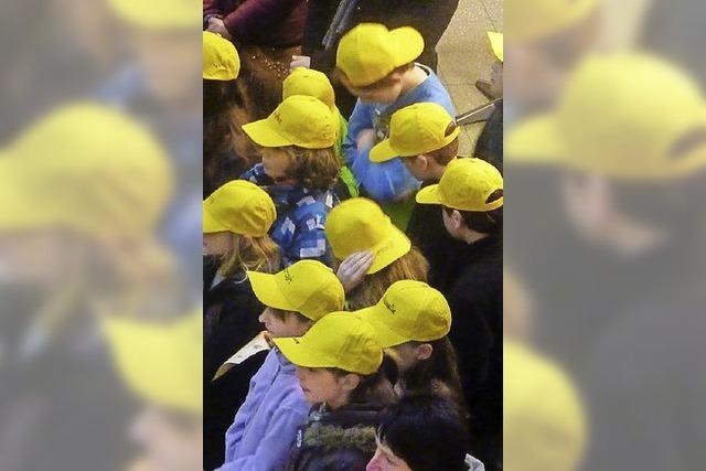 Gelb beherrscht die Szene