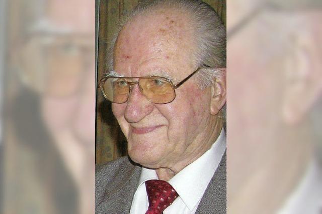 Trauer um Günther Kaleß - das Urgestein der SPD ist tot
