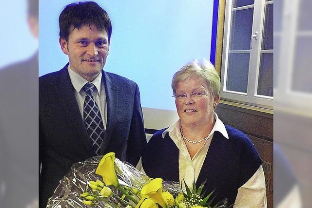 Rekordhalterin Wilma Schmidt verabschiedet sich