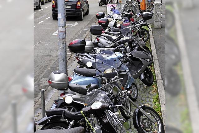 Parkkosten für Zweiräder?