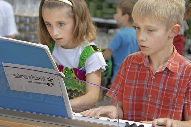 Musikverein und Musikschule vereint