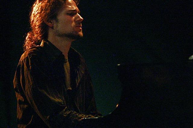 Rainer Böhm spielt im Jazzhaus