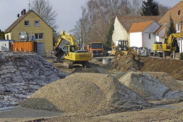 Acht Bauplätze werden erschlossen