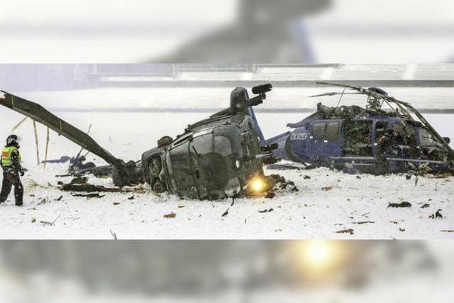 Pilot stirbt bei Polizeiübung