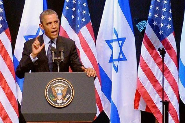 Obama fordert mehr Verständnis für Palästinenser