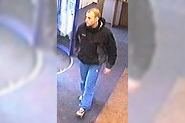 Überfälle am Geldautomaten: Polizei veröffentlicht Fotos vom Täter