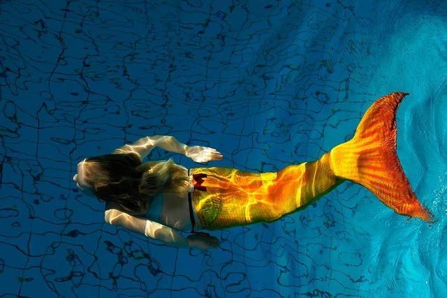 Was steckt hinter dem geplanten Meerjungfrauen-Weltrekord im Westbad?