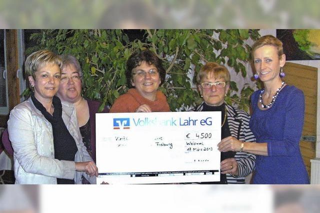 Elterninitiative spendet in 17 Jahren 55 000 Euro