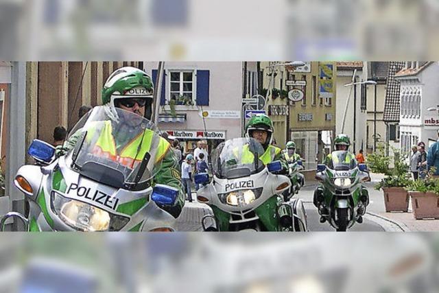 Polizei stellt sich auch dem Tagesgeschäft