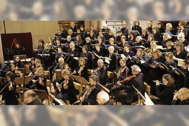 Brahms-Requiem in der Stiftskirche in Lahr