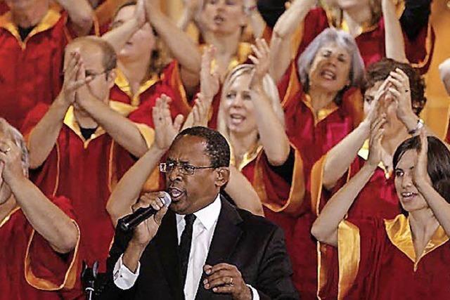 Freiburg Gospel Choir in der Alemannischen Bühne