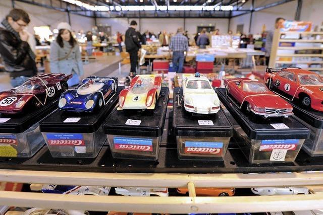 Freiburger Spielzeugbörse in der Messe