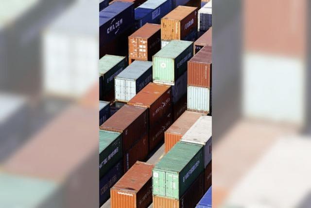 Zehn Prozent Plus im Export