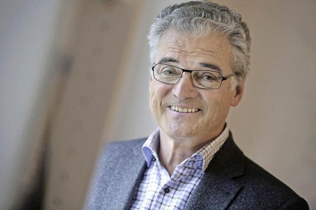 Der langjährige Chirurg am Offenburger Klinikum Axel Richter heute 70