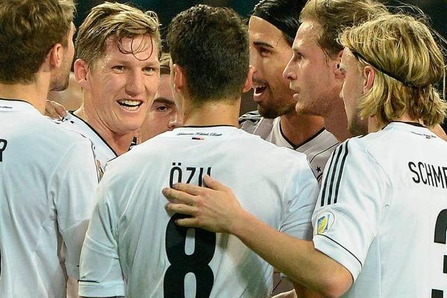 Ungefährdeter Sieg: Deutschland schlägt Kasachstan 3:0