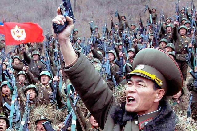Nordkorea feiert im Drohvideo den Einmarsch in Seoul