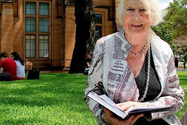 Australierin schreibt Doktorarbeit mit 92 Jahren